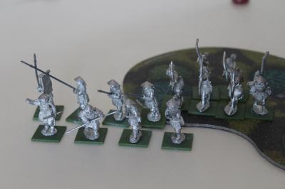 Ashigaru und Samuraibogenschützen